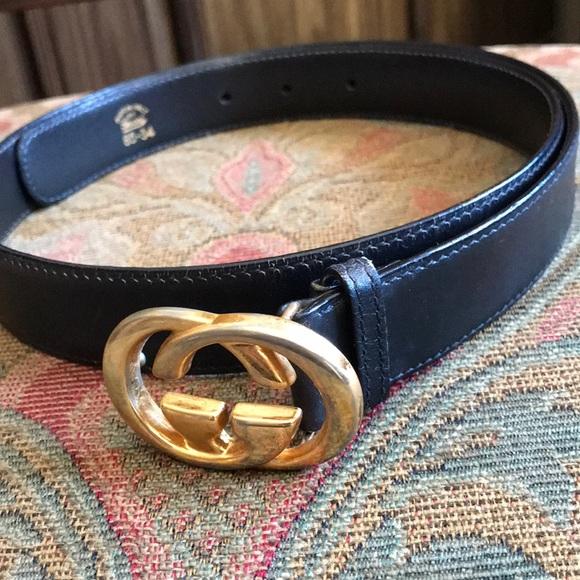"7daebcc1ad4 Gucci Accessories - Authentic vintage Gucci GG belt 34"""